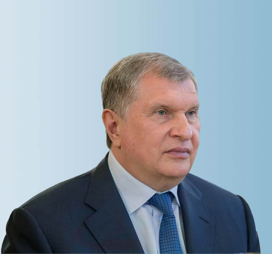 "Igor Sechin<br><div class=""charisman-bod"">Chairman of the PJSC Inter RAO Board of Directors</div>"